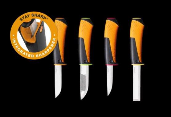 Ny knivserie med integrert knivsliper