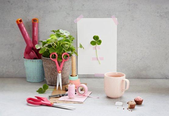 La kreativiteten blomstre