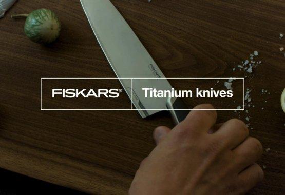Fiskars introduserer den siste innovasjonen innenfor kniver