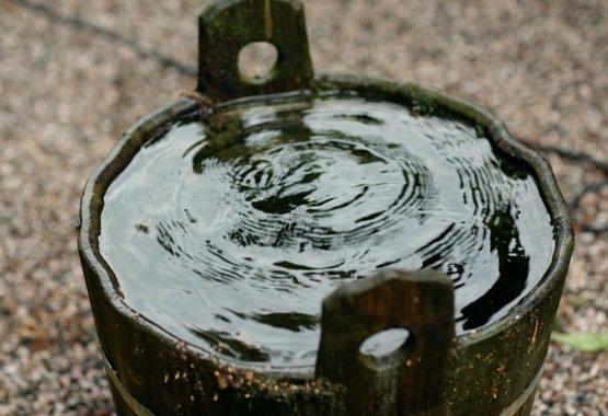 Spar på regnvannet