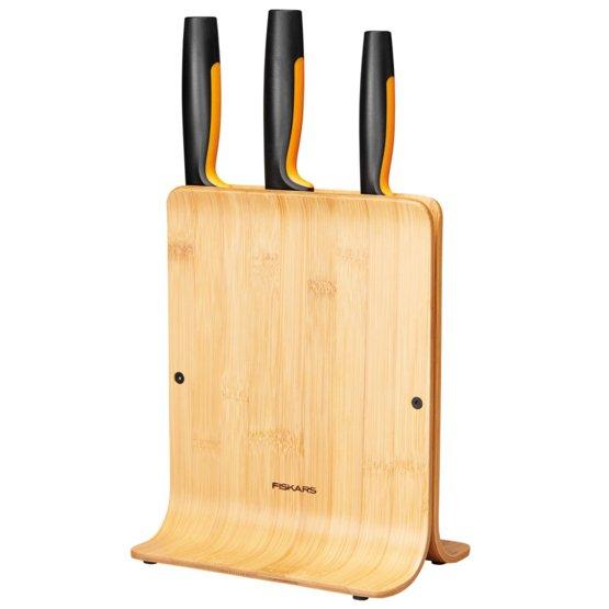 Functional Form Knivblokk Bambus, 3 kniver