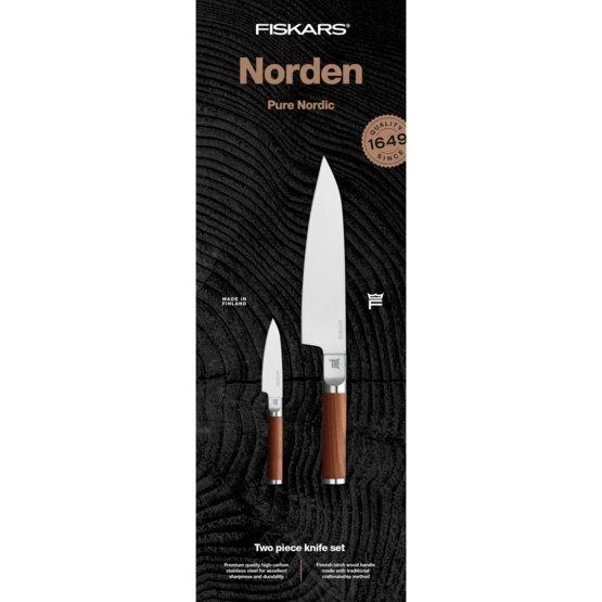 Norden Knivsett (Kokkekniv & Grønnsakskniv)