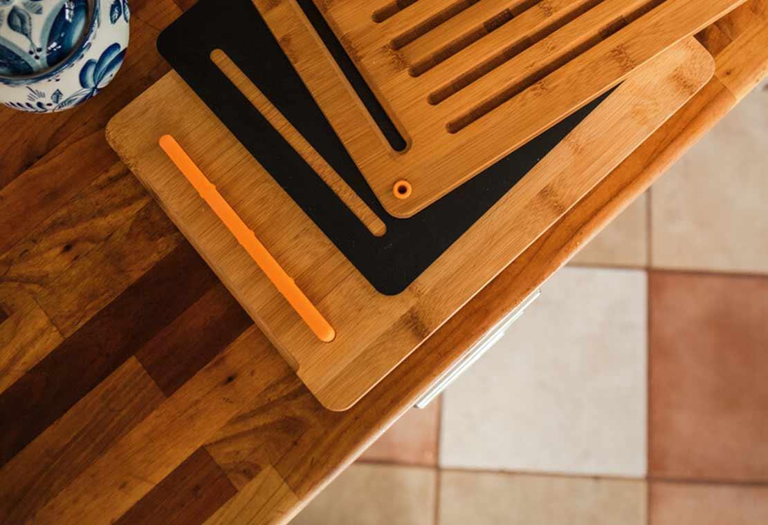 Functional Form Skjærebrett Bambus, 3 deler
